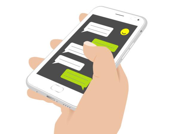 iPhoneメッセージのイメージ