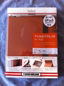 iPadケース TUNEWEAR TUNEFOLIO for iPad 2
