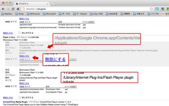 Google Chrome.app を無効にする