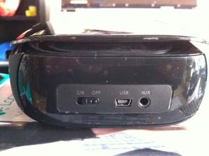 Logicool Mini Boombox 背面