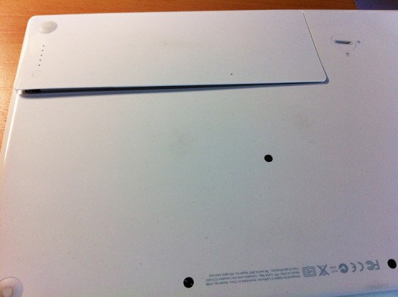 MacBookバッテリ