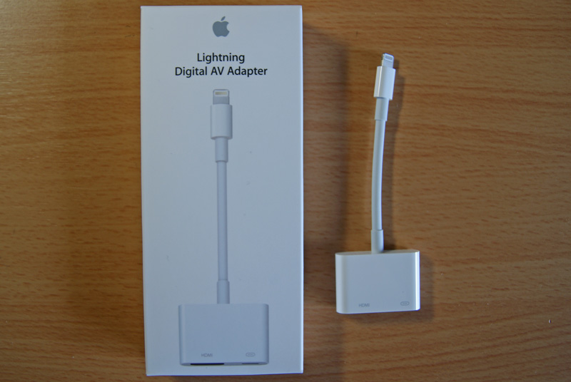 Apple Lightning Digital AVアダプタ MD826ZM/A