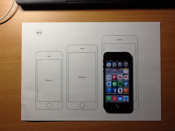 iPhone 大きさ比較