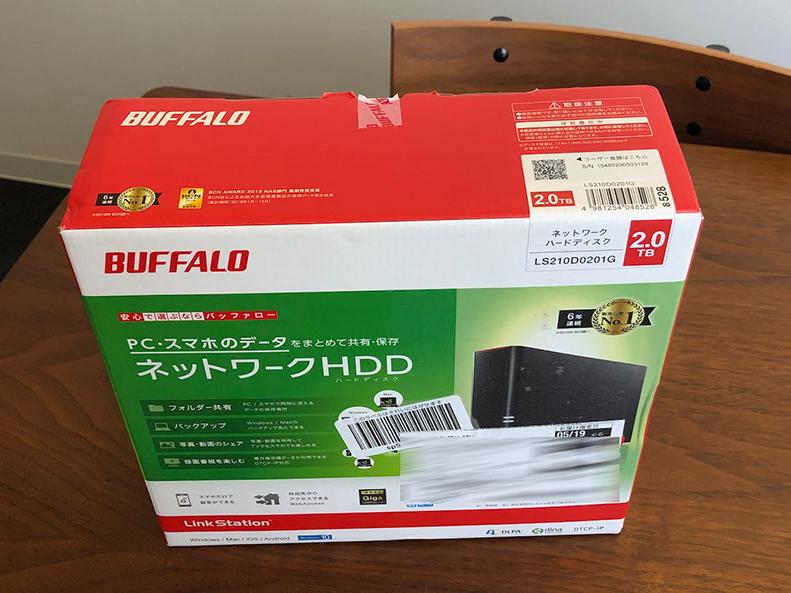 Buffalo LS210D
