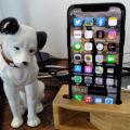 【iPhone】ニッパーくんのスマホスタンド