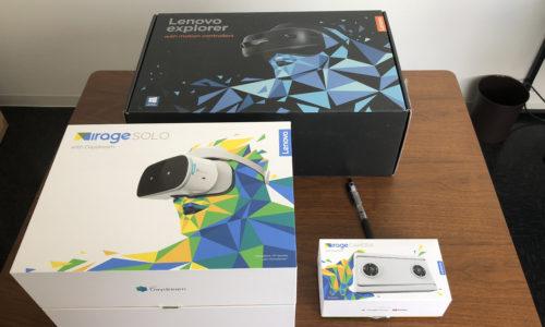 Lenovo VR機器3種