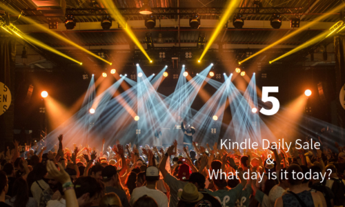 Kindle Daily Sale 5