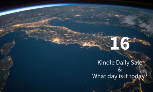 Kindle Daily Sale 16