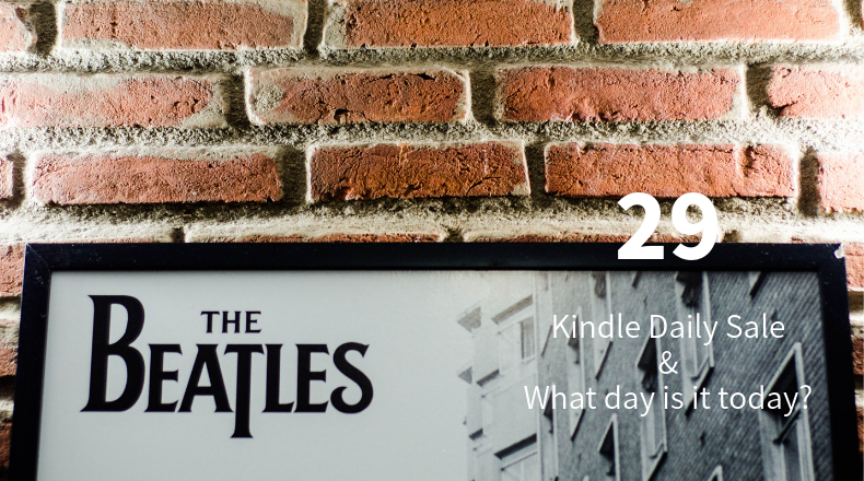 Kindle Daily Sale 29