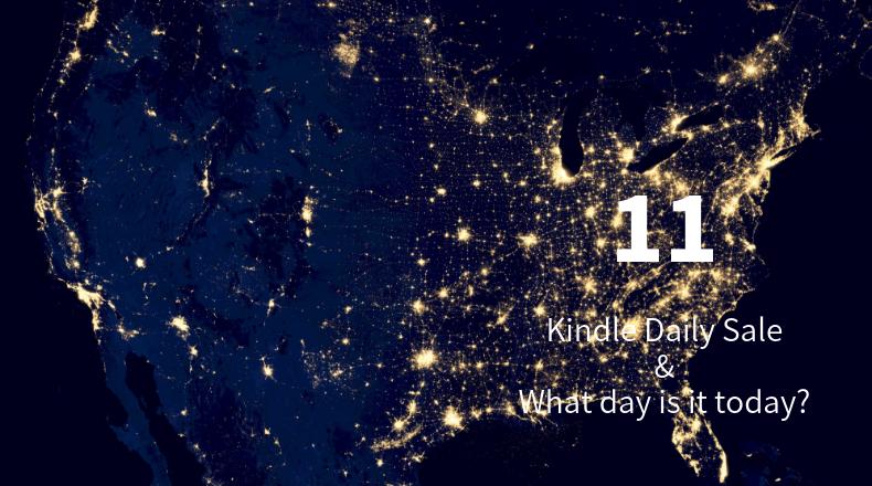 Kindle Daily Sale 11