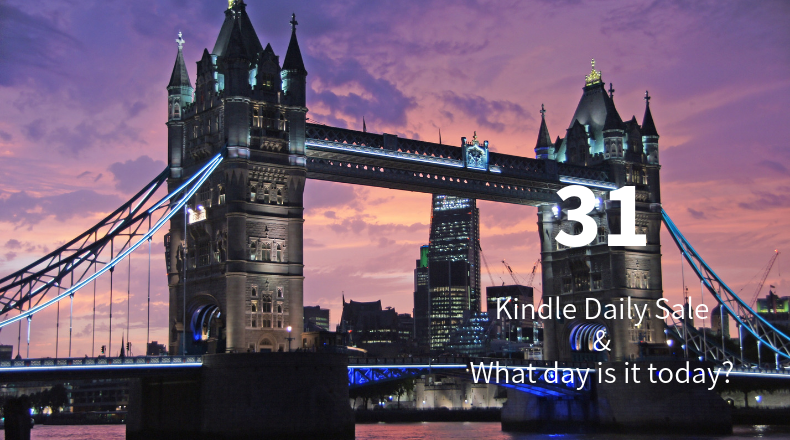 Kindle Daily Sale 31
