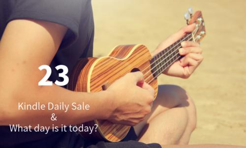 Kindle Daily Sale 23