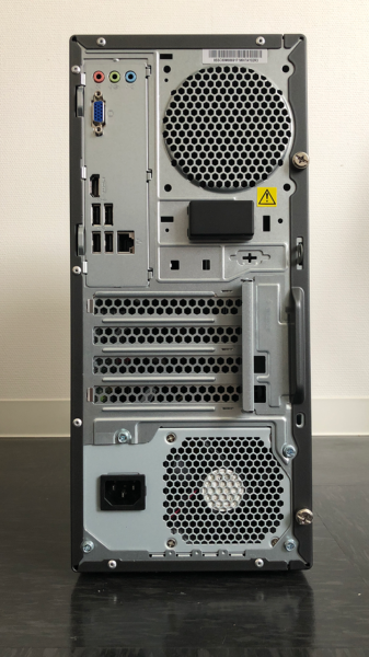 Lenovo Ideacentre 720 背面