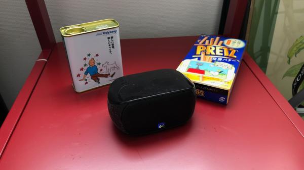 Amazon Echo Dot につなげたBluetoothスピーカー