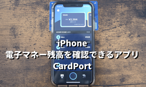 iPhone CardPort