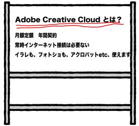 Adobe 製品 永続ライセンス版パッケージ版は在庫限りというけれど… Adobe Creative Cloud って?今までとどう違うのだろう?