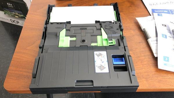 ブラザー DCP-J973N 用紙トレイ
