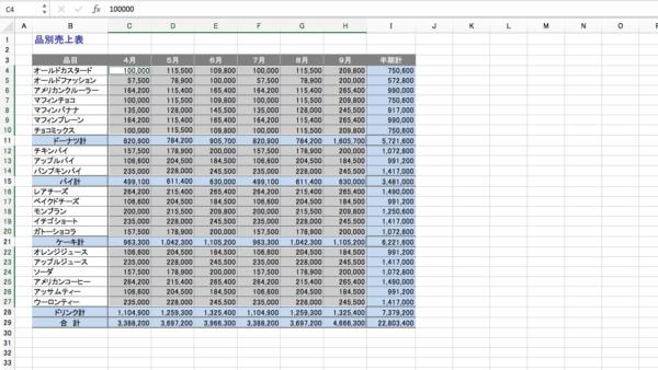 Excel セル選択