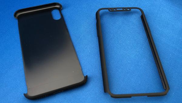 保護力に優れたフルカバー!送料無料!  iPhoneX ケース 超薄 2ピース構造