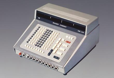 世界初のオールトランジスタ電卓 シャープ <CS-10A>